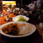 宇宙カレー - 日替わりカレー(豚肉と白菜)