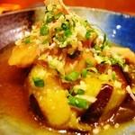 あら井 - 茄子と鶏肉の煮物