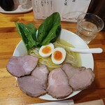 極汁美麺 umami - 料理写真:地鶏塩・得製トッピング