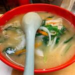 三陽 - チンチン麺 ¥730