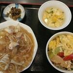 チャンポン龍 - 料理写真:皿うどんBセット