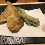 横浜 酒槽 - 穴子の天婦羅
