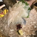 横浜 酒槽 - 2人用のカワハギ