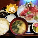 二本松 - 料理写真:刺身定食(3080円)