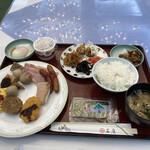 ホテル石庭 - 料理写真:朝食バイキング