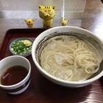 七福 - 料理写真:冷やしうどん小 300円(税込)