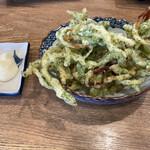 磯丸水産 - さきいかの天ぷら