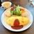 ねこのいる占いカフェ nil - 料理写真:ニャンこオムライス。1200円