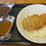 カレーハウスあんくる - 料理写真:豚カツカレー