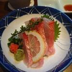 おいしい魚を食べさせる店 魚可津 - 金目鯛刺身
