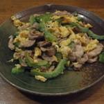 招福 - 豚肉とゴーヤのチャンプルー、730円