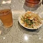 上海庭 - ランチサラダ