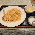 上海庭 - 海老チャーシュー炒飯