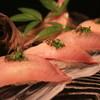竹寿司 - 料理写真:活鯵の握り