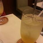 Cafeルノアール - フレッシュな感じのソーダだった気がします( ・д・)/--=≡(((卍 シュッ!!