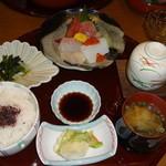 宇都宮グランドホテル - 料理写真:刺身膳