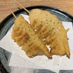 焼き鳥 きんざん - タケノコ天ぷら