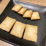 焼き鳥 きんざん - クリームチーズの味噌漬け