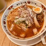 博多担々麺 とり田 - 坦々麺