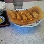 ラーメン藤 - セットの餃子