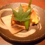 15535436 - 賀茂茄子の変わり田楽