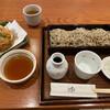 手打そば仁水 - 料理写真:せいろ(720円)と富山の白えびかきあげ(750円)
