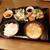 にっぱち酒場 大五郎 - 料理写真:鶏の唐揚げセット(616円)2021年7月