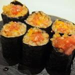 鮨 仙酢 - とろたく巻き