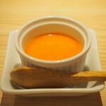 鮨 仙酢 - 自家製プリン