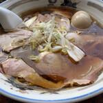 155363293 - 2021/7/23  チャーシューワンタンメン 1,100円に煮卵トッピング110円