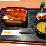 155363698 - 【2021.7.26(月)】うな丼(イチゴスムージー)2,068円→1,034円