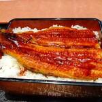 155363704 - 【2021.7.26(月)】うな丼(イチゴスムージー)2,068円→1,034円のうな丼
