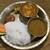 ネパール民族料理 カスタマンダップ - 料理写真:ベジ(野菜)のダルバットセット