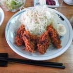 とんかつ和紀 - 料理写真:「カキフライランチ」
