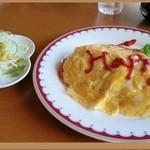 コーヒーベア - ハッピーオムライス(650円)