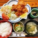 155380069 - 鶏の唐揚げ定食