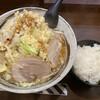 麺屋 愛0028 - 料理写真:らー麺750円。ニンニク増しです。ランチサービスはライス。