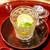 おみ乃 - 料理写真:トウモロコシ、アイコトマト、蓴菜、オクラのジュレ
