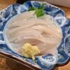 天ぷら 天八 - 料理写真:活イカ刺し