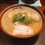 炙り味噌らーめん 麺匠 真武咲弥  - 味玉味噌ラーメン