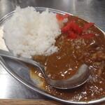 長田本庄軒 - ぼっかけ焼きそばカレーセット(カレー)