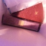 スフレ - ザッハトルテ(写真上)と焼きチョコラムレーズン