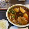 Shirokaneshougetsu - 料理写真:あんかけうどん 750円