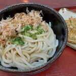 室町うどん - 料理写真:しょうゆ(大)&ごぼう天