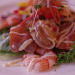 ラ・プーラルド - 料理写真:海の幸のマリネのサラダ