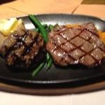 15541074 - 国産牛ステーキ&ハンバーグ