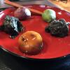 江口だんご本店 - 料理写真:五色団子