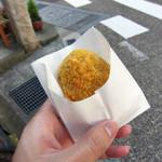 15542499 - 飛騨牛コロッケ(130円)