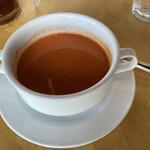 155428302 - トマトスープ。。滑らかで飲みやすい
