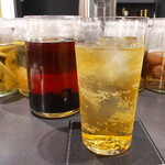 BAR&DINING KAZEMACHI - コーヒーハイボール。アイリッシュウイスキーに珈琲豆を漬け込んで風味を抽出